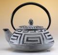 Greek Key Teapot