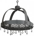 Dome Pot Rack Copper Graphite