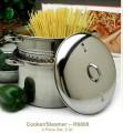 4 Piece  Set Pasta Cooker and Steamer