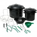 12 piece Canning Set Granite Ware