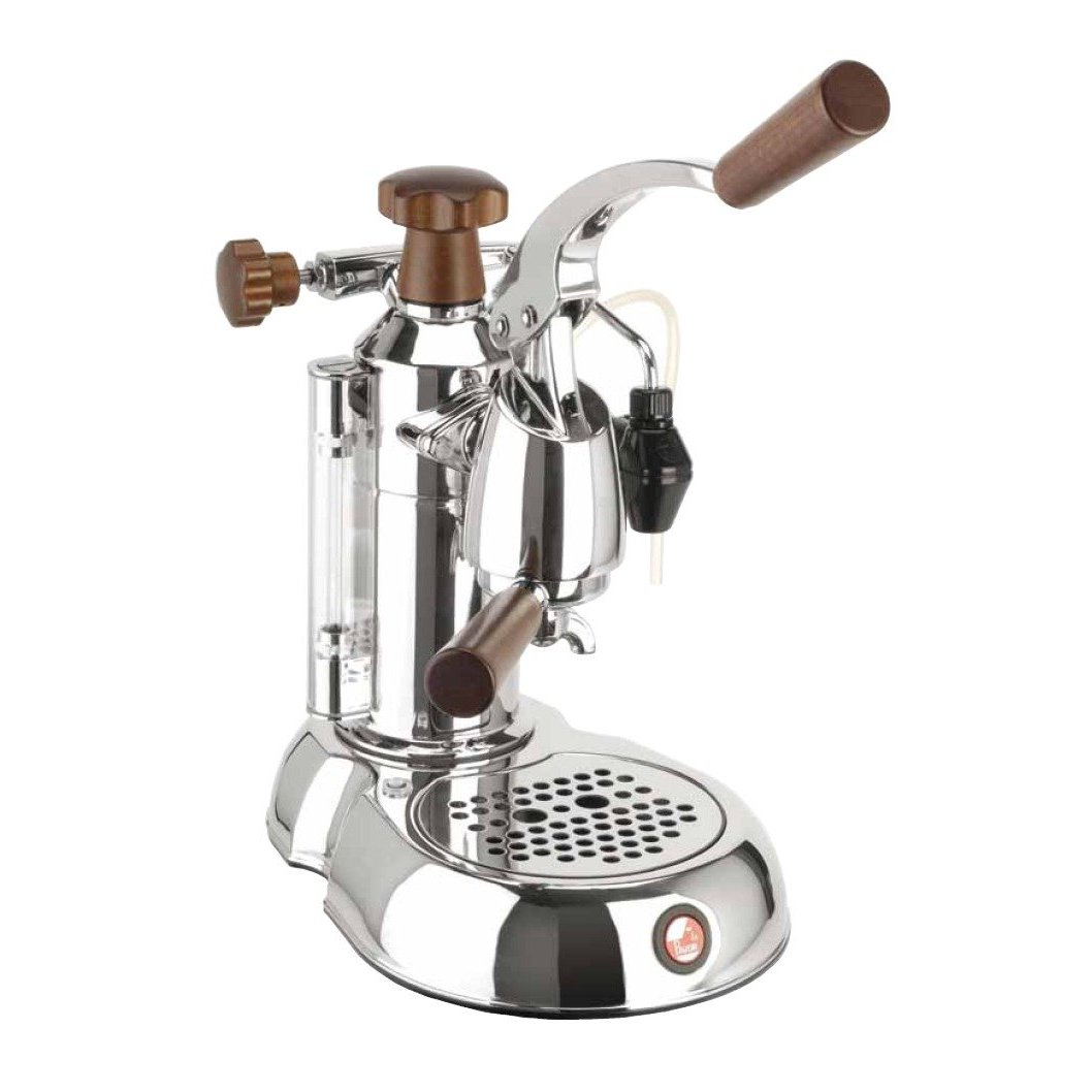 la pavoni stradavari espresso machines wood chrome. Black Bedroom Furniture Sets. Home Design Ideas