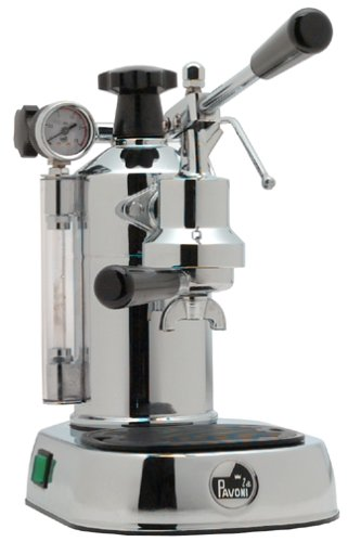 La Pavoni Pc 16 Professional Espresso Machine Chrome Made
