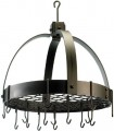 Dome Pot Rack Copper oiled bronze
