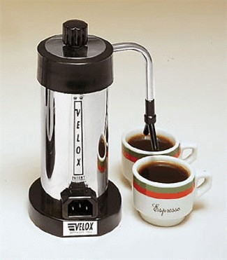 Velox Electric Electric Espresso Maker Made in Italy - KitchenArts.com