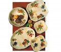 Antica Quattro Stagioni four season ceramics made in Italy