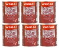 Set of 6 cans  of Wenol 1000ml  made in Germany 39 oz