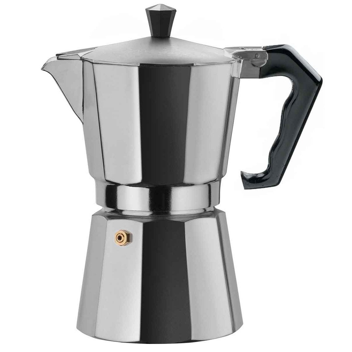 brazil express 9 cup coffee maker aluminium made in italy. Black Bedroom Furniture Sets. Home Design Ideas